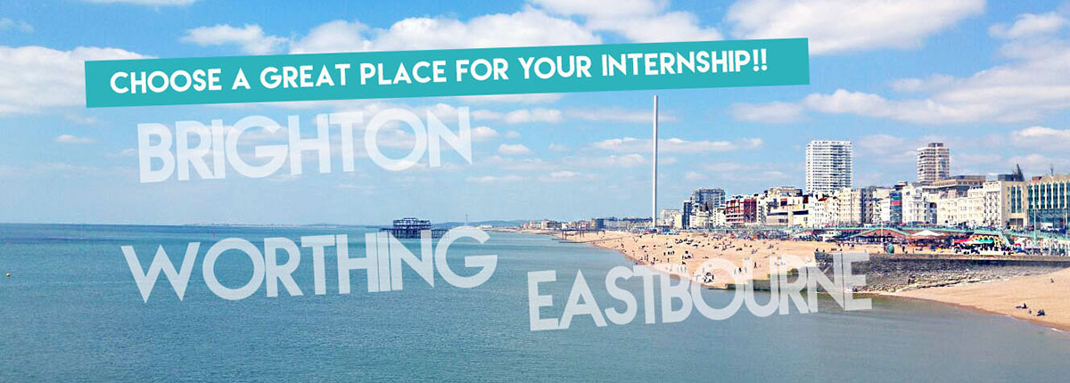 Internship in Brighton- Worthing- Eastbourne-Intership in the UK