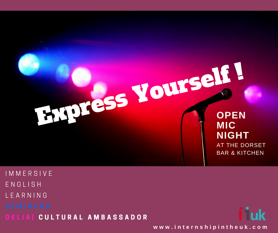Express Yourself - Immersive English Language- Internship in the UK